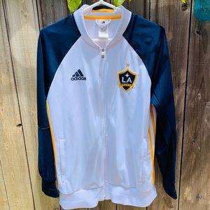 adidas Jackets & Coats - Adidas Anthem L.A. Galaxy Sidelines Jacket